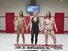 Bella Rossi and Nikki Darling non-presence about fuck after the fight match