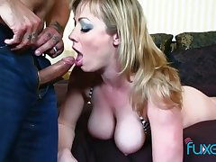 Big tittied whore with spanked red ass Jessica gets their way anus rammed