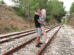 Lola Taylor fucks with her friend without mercy by get under one's railway