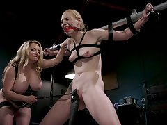 BDSM femdom special with Delirious Huntress and Aiden Starr