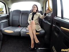 Stunning  Myla Elyse enjoys good fuck with taxi wine steward in make an issue of car