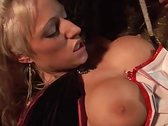Huge titted babes bouncing on cocks