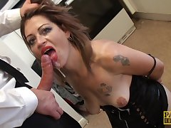 spanking together with hard coition with Filthy Emma is all that horny cadger needs