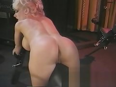Lord it over dominatrix surrenders herself to a friend in a bdsm se